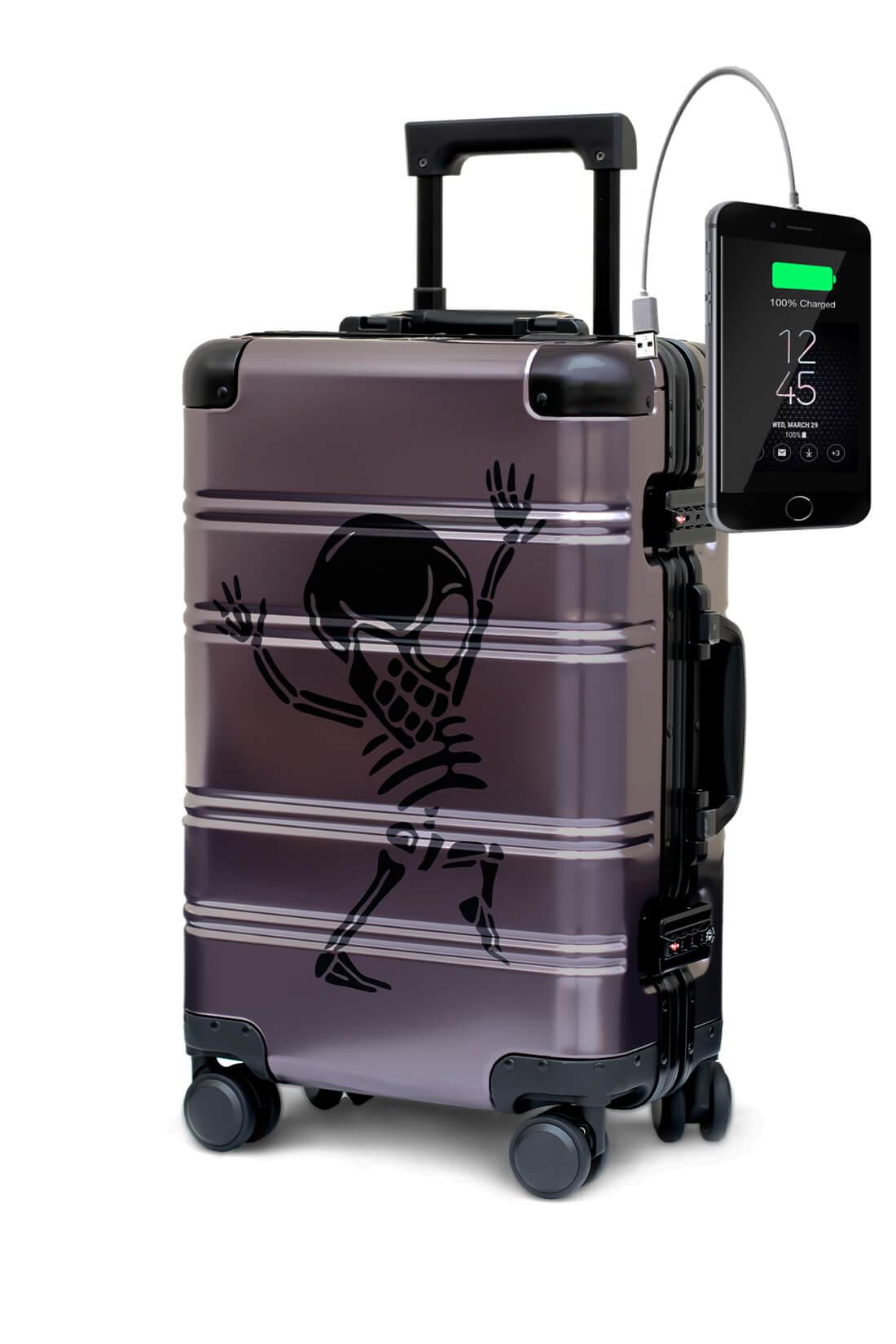 Aluminium Valise Online Cabine Trolley TOKYOTO LUGGAGE Modelle Money Heist 2