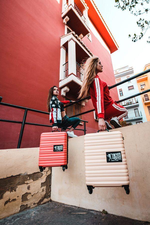 Cabine Valise Online Prete a Charger les Portables Beige