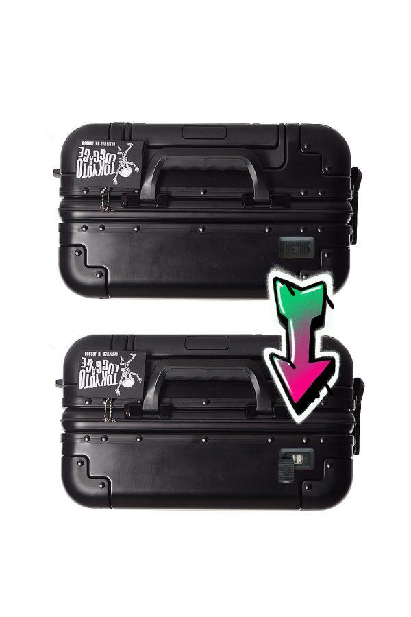 Valise Online Cabine Trolley Enfant TOKYOTO LUGGAGE Modelle BLACK LOGO