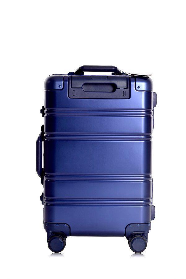 Valise Aluminium Online Cabine Trolley Avec Chargeur Powerbank TOKYOTO LUGGAGE Modelle BLUE LOGO 4
