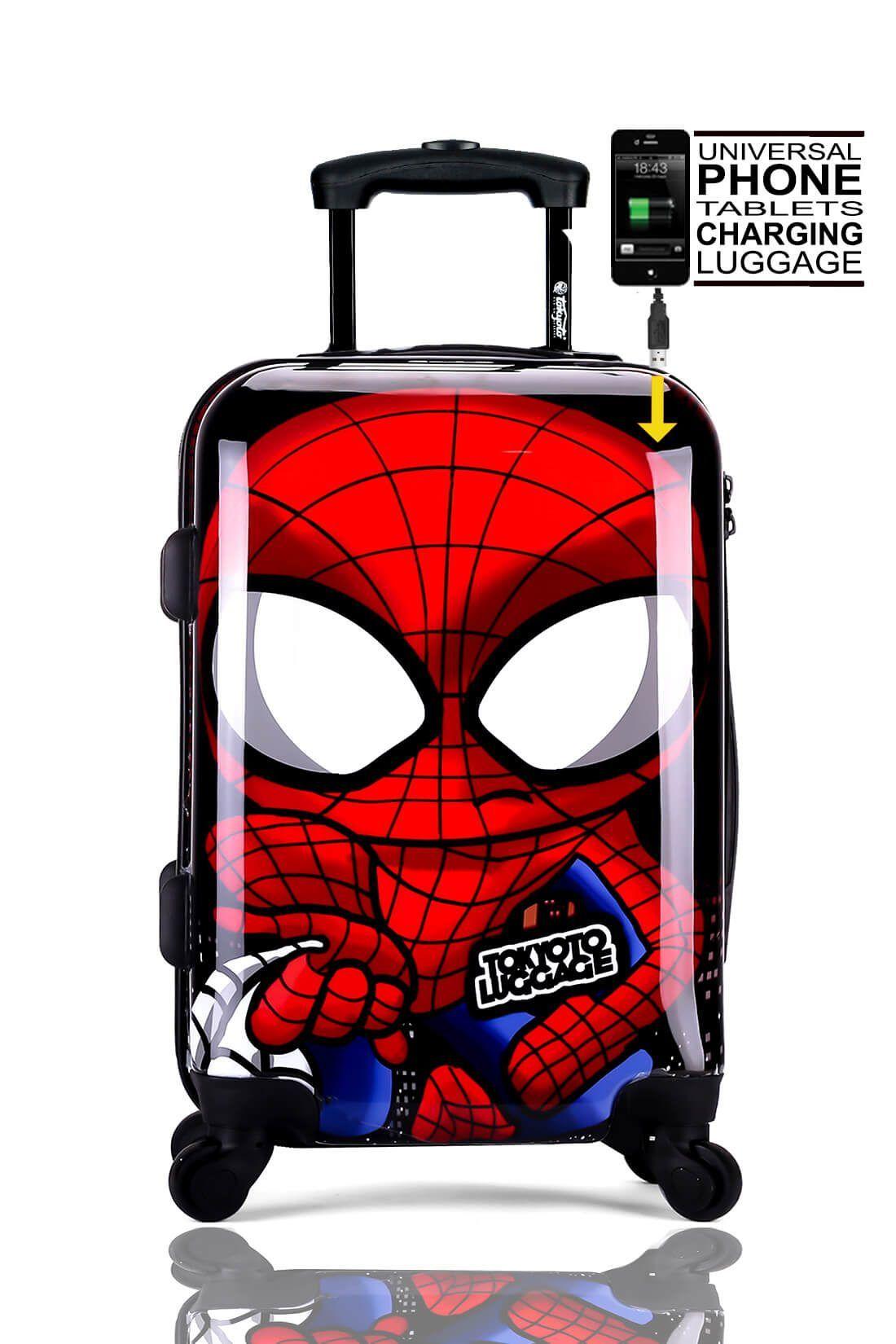 Valise Online Cabine Trolley Enfant TOKYOTO LUGGAGE Modelle SPIDER BOY 1