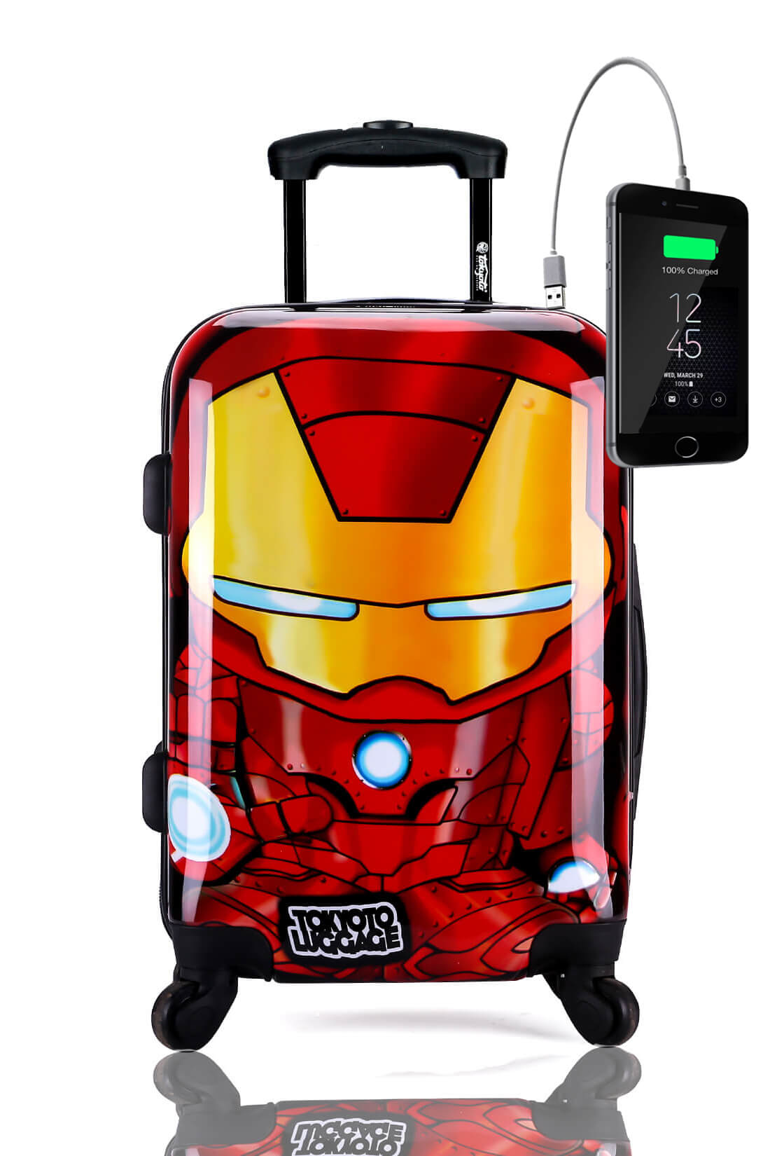Valise Online Cabine Trolley Enfant TOKYOTO LUGGAGE Modelle IRON BOY