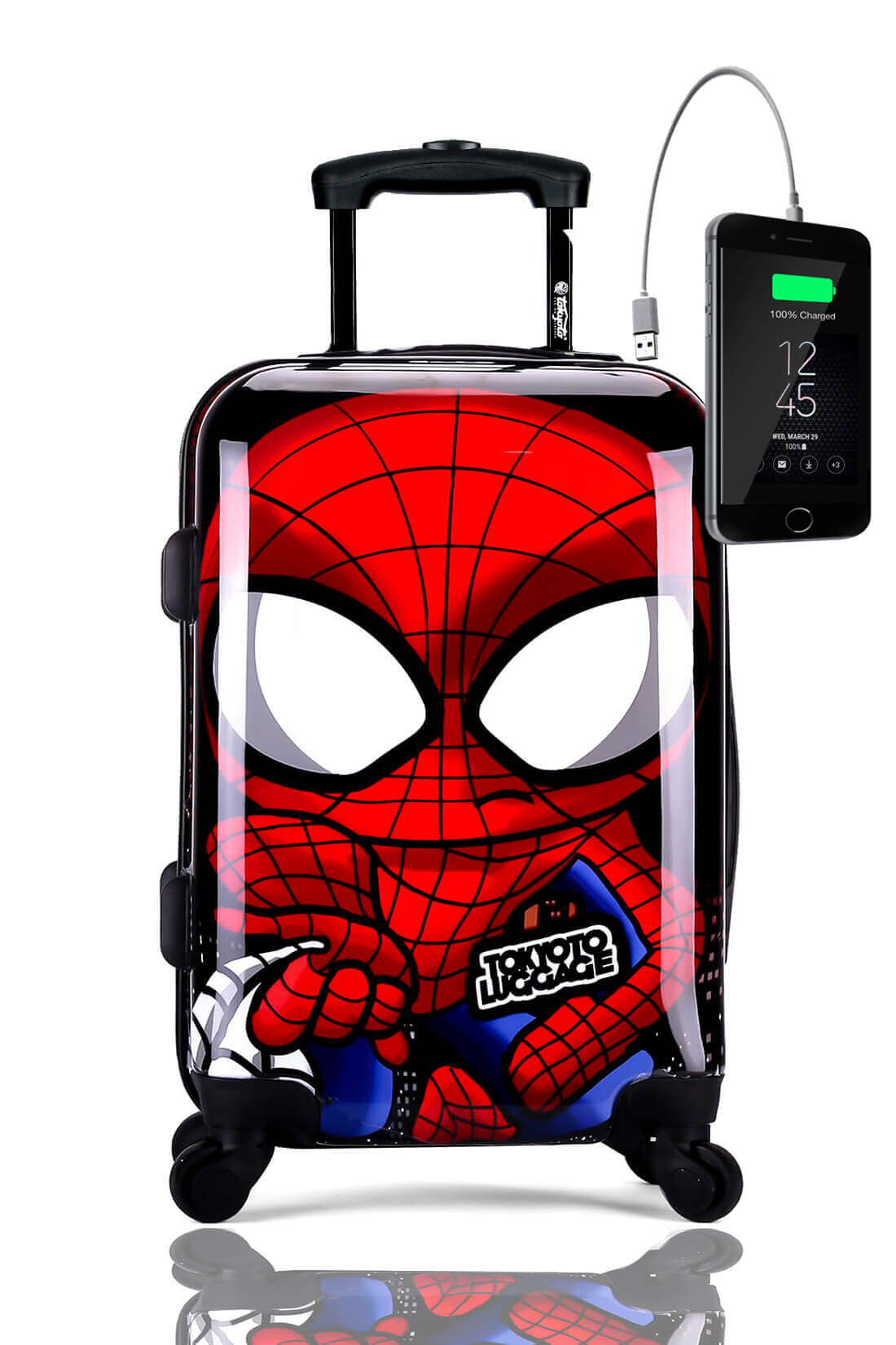 Valise Online Cabine Trolley Enfant TOKYOTO LUGGAGE Modelle SPIDER BOY